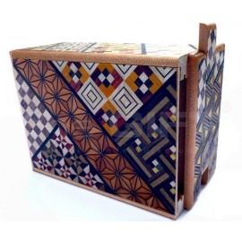 Japán trükkös doboz Kirakós doboz 7 lépéses