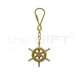 Kulcstartó hajókormány Réz kivitelben