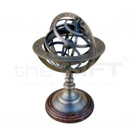Armilláris gömb Asztali