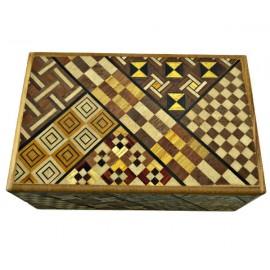 Japán trükkös doboz Kirakós doboz 21 lépéses