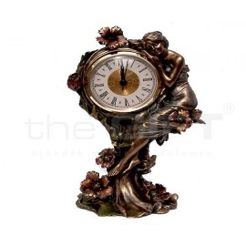 Art Deco óra szobor 25 cm